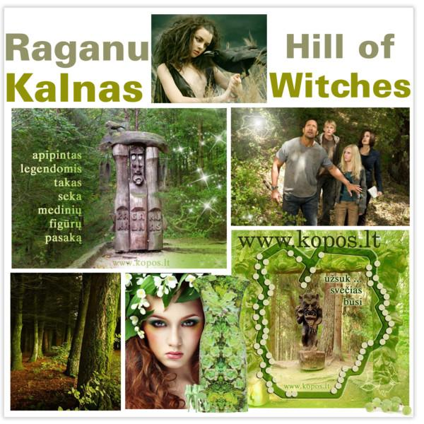 The Hill of Witches - Lithuanian: Raganų Kalnas, Latvian:Raganu kalns, Witches Berg, nõiad Mountain,Ведьмы горы, відьми гори,sor