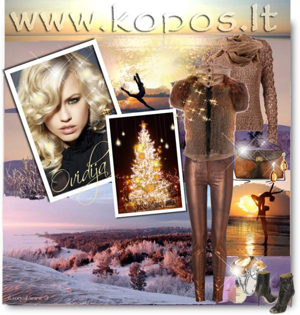 Curonian Spit Winter Fashion 2012