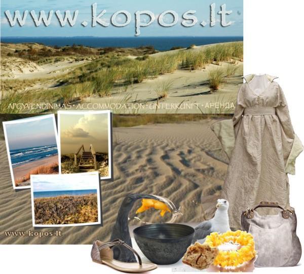 Summer vacation, Summer Holidays, Sand dunes by the Baltic Sea, Neringa, Nida, Curonian Spit, Lithuania