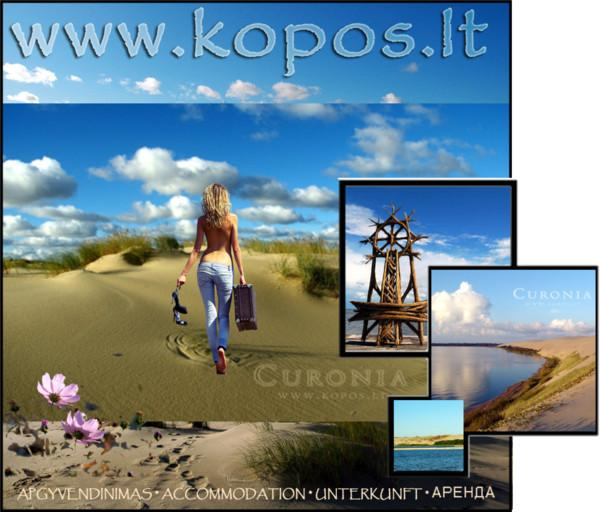 www.Kopos.lt Curonian Spit, Vacations by the Baltic Sea, Kursiu Nerija, Auksines Kopos, Golden Dunes